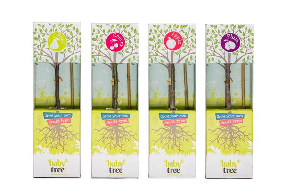 Baby Tree verpakkingen
